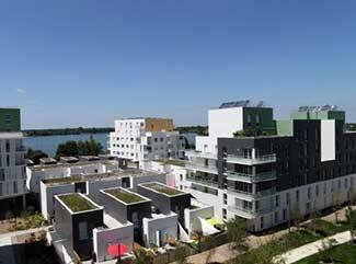 deux ecoquartiers de bouygues immobilier distingu s business immo. Black Bedroom Furniture Sets. Home Design Ideas