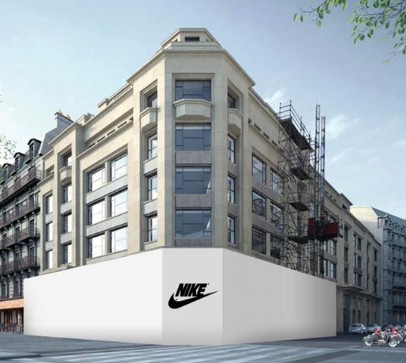 wholesale where can i buy pretty cool Norges pays €613m cash to add Paris Champs-Elysées Nike ...