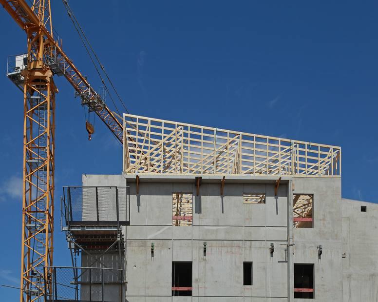 La construction de logements a marqué le pas entre novembre et janvier 1