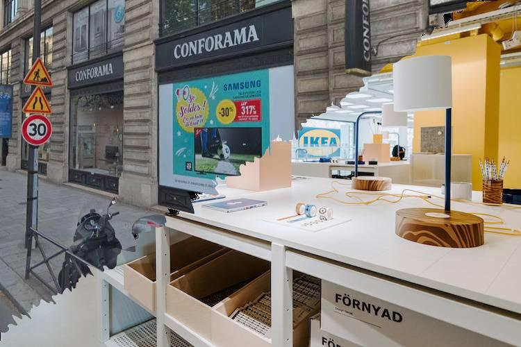 Ikea Vs Conforama Le Match Des Datas Business Immo