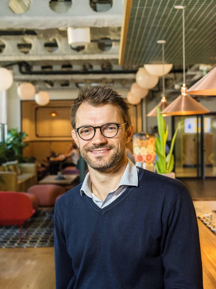 Frédéric Motta, directeur général WiredScore France