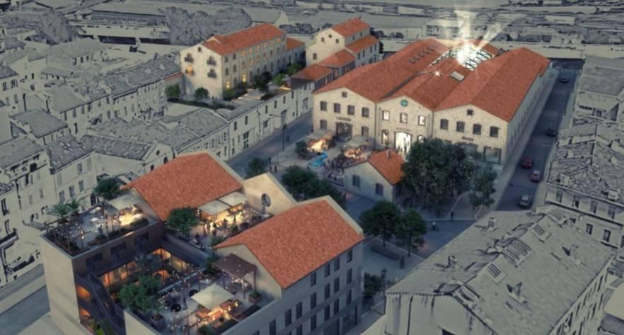 Marseille : le lauréat du concours du renouvellement du quartier des Crottes désigné 1