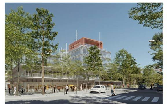 Projet de campus hospitalo-universitaire de Saint-Ouen.