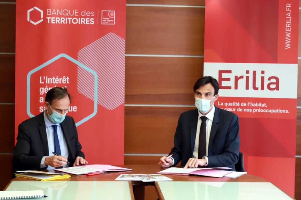Logement social : Erilia signe une convention de 500 M€ avec la Banque des territoires 1