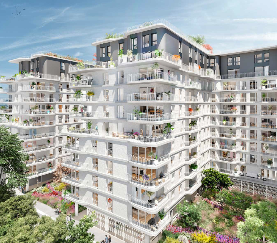 Novaxia Investissement réalise 300 logements avec Cogedim et Serpi à Clichy 1