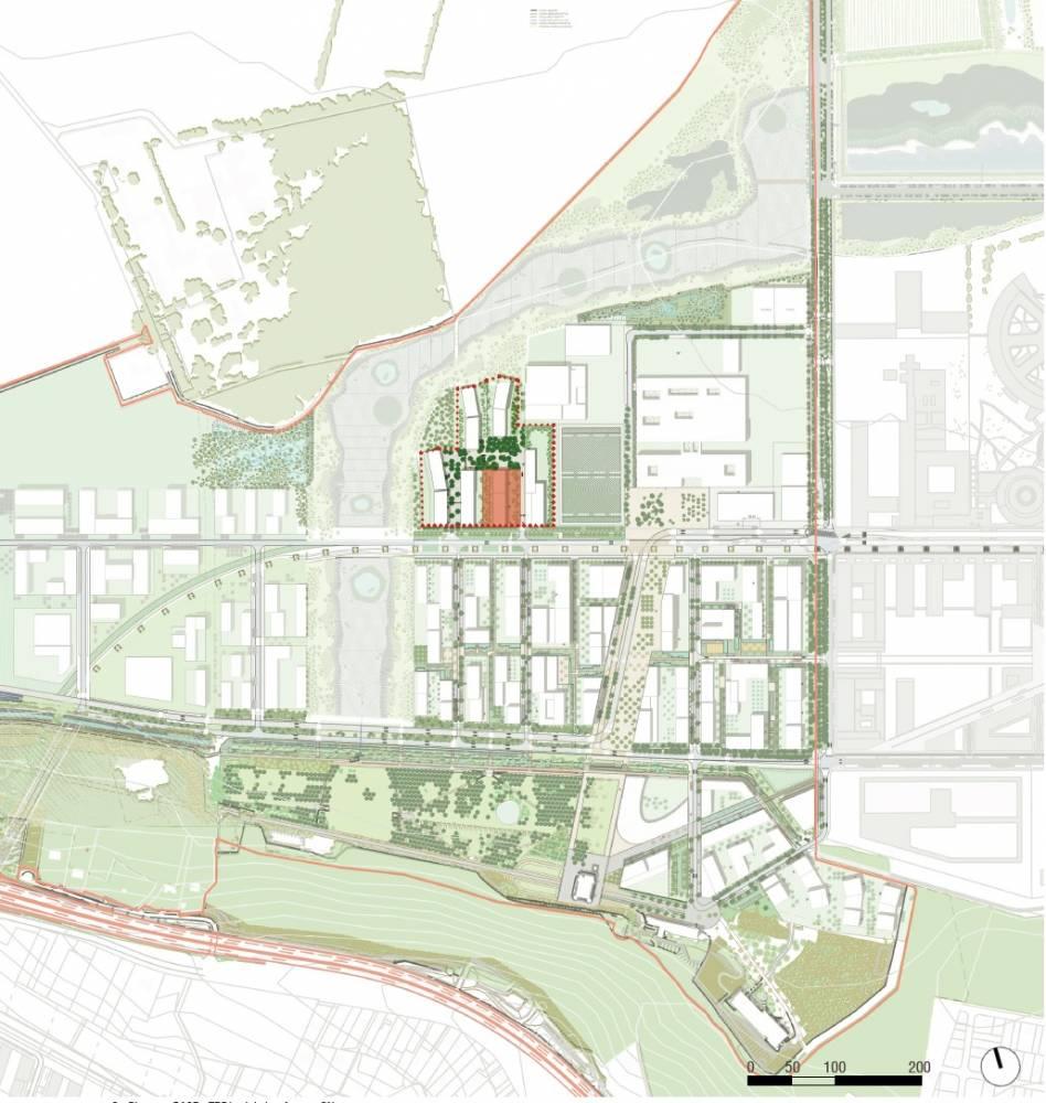 ZAC de Corbeville : l'EPA Paris-Saclay lance une consultation pour des logements sociaux étudiants 1