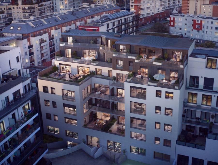 Immeuble Canopée situé à Issy-les-Moulineaux.