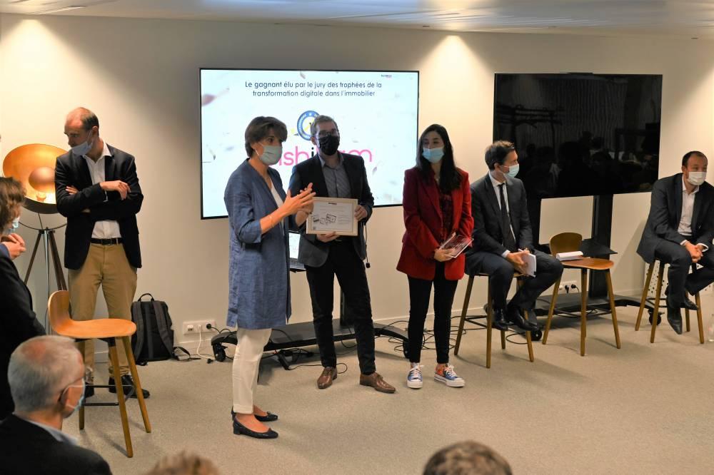 Wishibam a reçu trois trophées lors de ce rendez-vous.